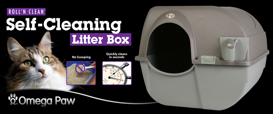 Roll'n Clean Self-Cleaning Litterbox